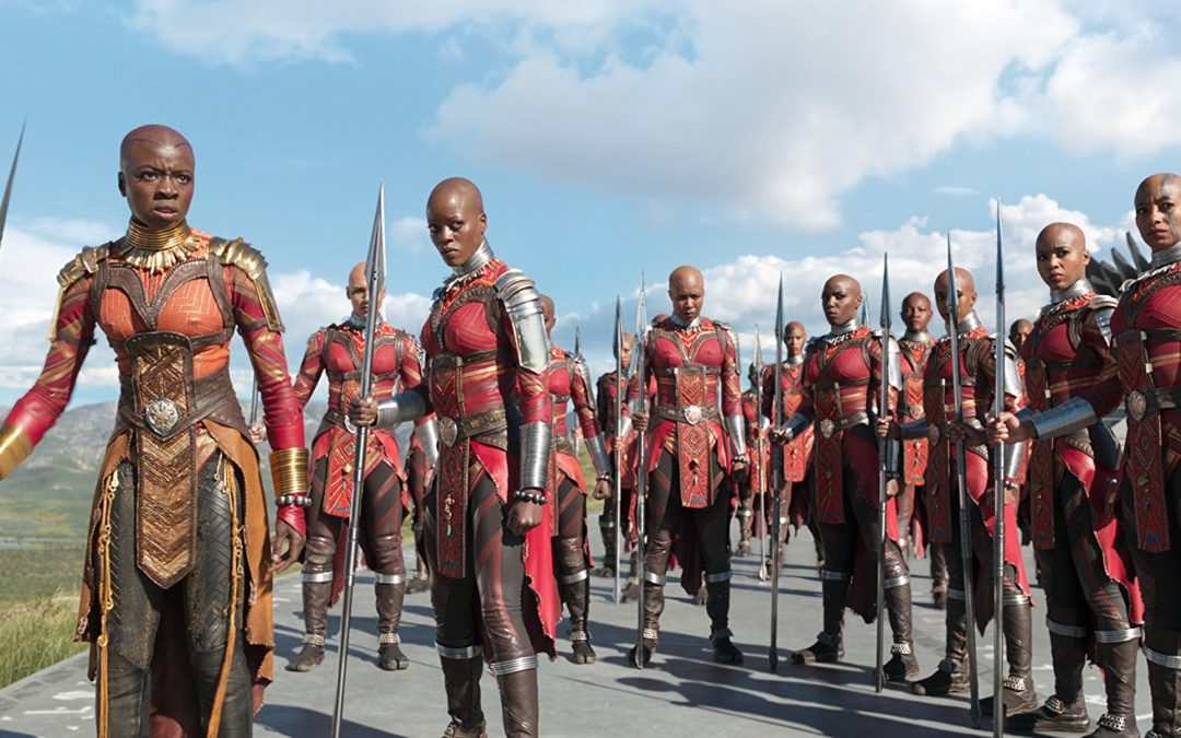 What The Black Panther Movie Did For Bald, Black Women