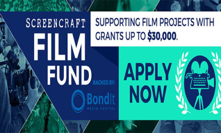 Film Grant: Screencraft Film Fund – Deadline June 30th